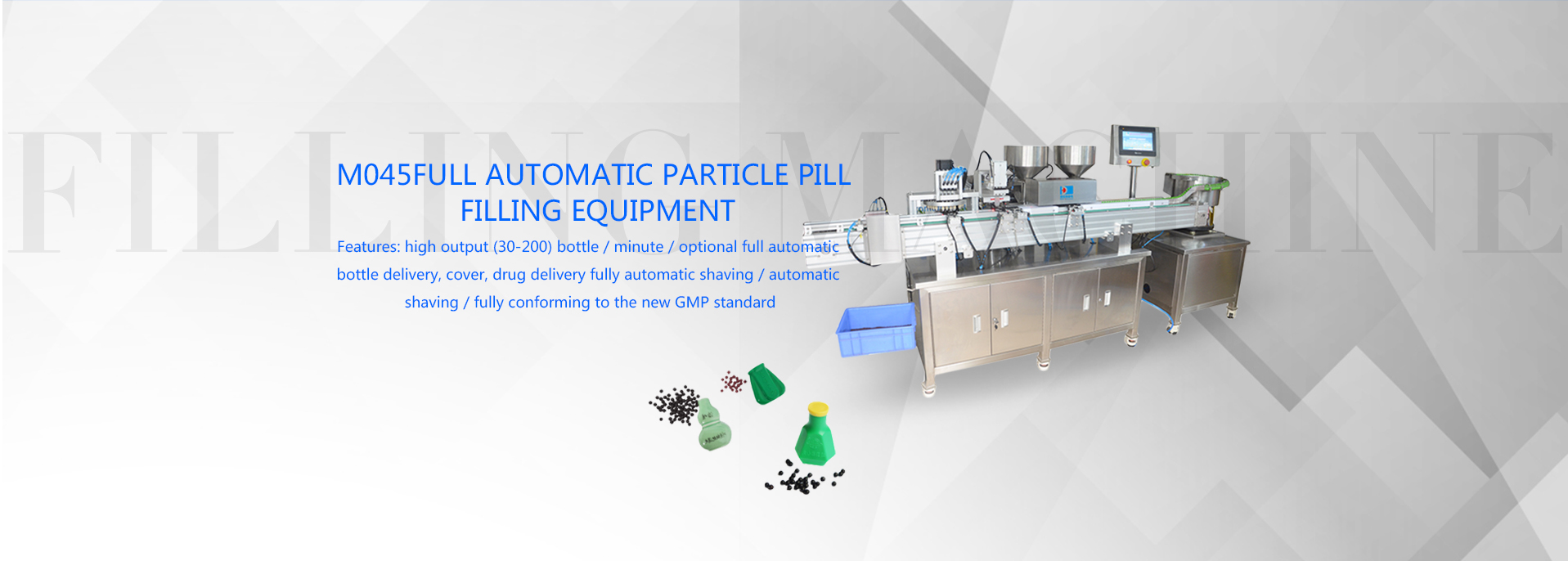 Pill filling machine